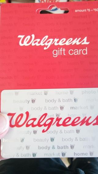 Walgreens 40 gift card with bonus