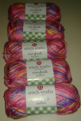 Free: 5 Skeins of Yarn & Crochet Hook - Crochet - Listia com
