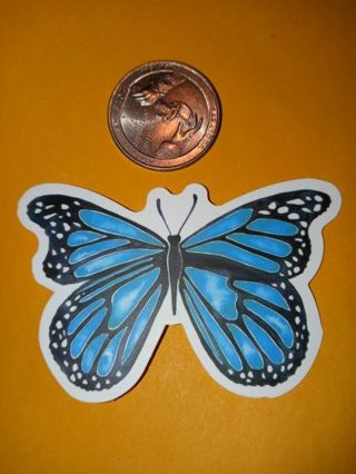 Butterfly Cool new vinyl lab top sticker no refunds regular mail only no lower