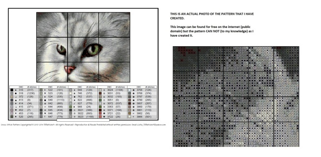 Cat Cross Stitch Pattern  ***Winners Choice***