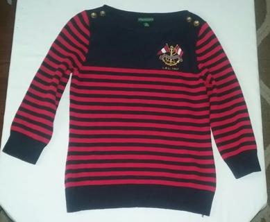 Lauren Jeans Company by Ralph Lauren Sweater Size Large