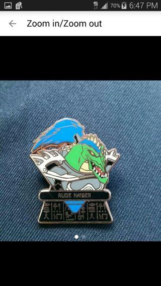 Yu-Gi-Oh Rude Kaiser Collectable Pin