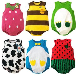 Newborn Infant Kids Baby Boy Girl Animal Romper Jumpsuit Playsuit  Clothes