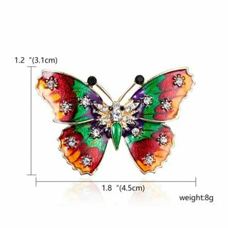 BOMBASTICALLY BEAUTIFUL BUTTERFLY BROOCH