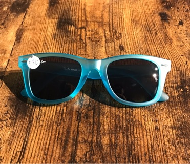 Blue Wayfarer Men's Women's Unisex Sunglasses