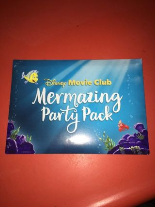 Little Mermaid party pack! BN