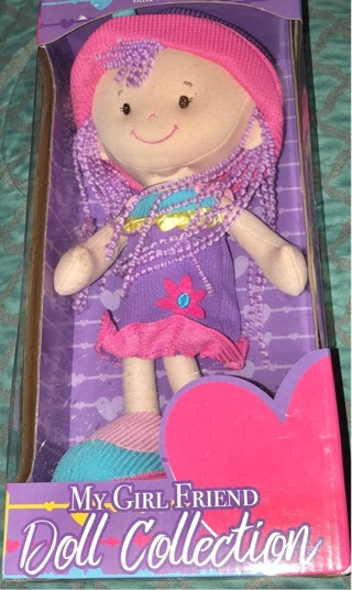 "BNIB ""Kids Preferred"" My Girl Friend Doll Collection. 14"""
