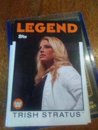 Wwe 2016 legend women's 4 card lot