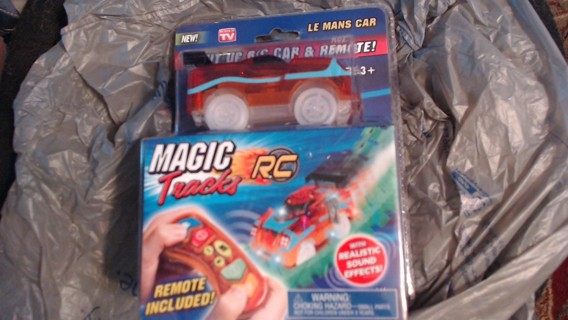BN Magic Tracks R/C Car + Remote