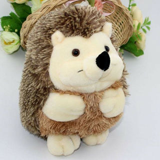 18cm Soft Hedgehog Animal Doll Stuffed Plush Toy Baby Kids Family Wedding Party