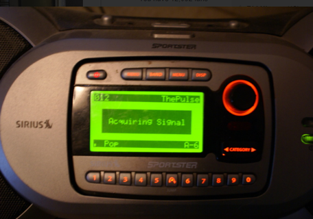 1 Sirius Radio Sportster + Boom Box Speaker System