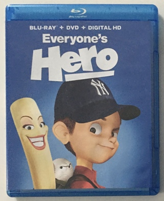 Everyone's Hero Blu-ray / DVD Combo Movie with Case - Great Condition!
