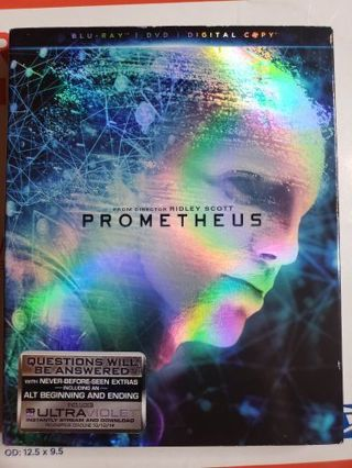 The Prometheus Blue-ray movie