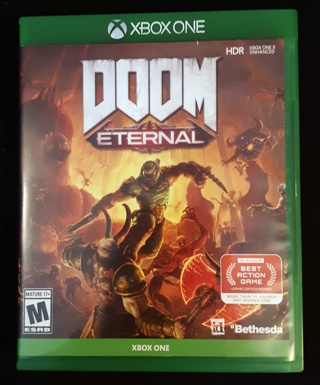 Xbox one Doom Eternal Like New In case