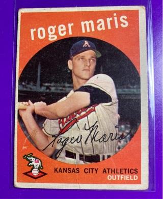 1959 $$ Roger Maris HOF
