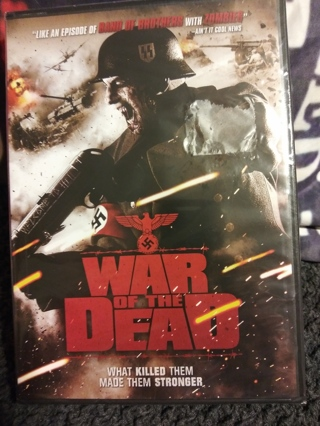 WAR OF THE DEAD DVD FACT. SEALED