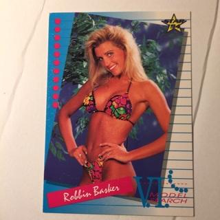 1994 Venus International Model Search Robbin Basker CARD 89 FREE SHIPPING