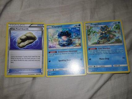 3 Pokemon Cards!