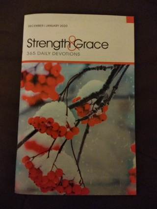 Strength and Grace-December/January with Bookmark