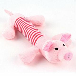 Fashion Pet Puppy Chew Plush Pig Elephant Duck Ball For Dog Fun Toys Pig