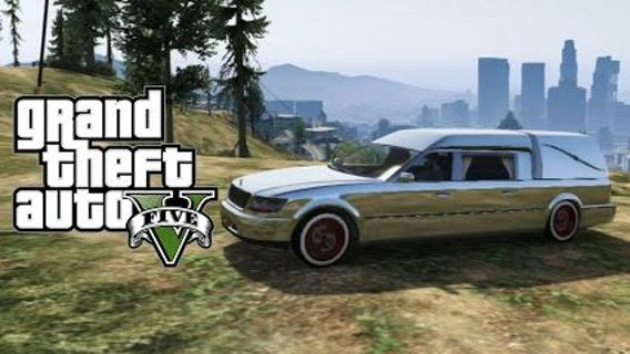 Free Gta 5 Rare Car Xbox360 Online Hearse Aka Romero Aka Death