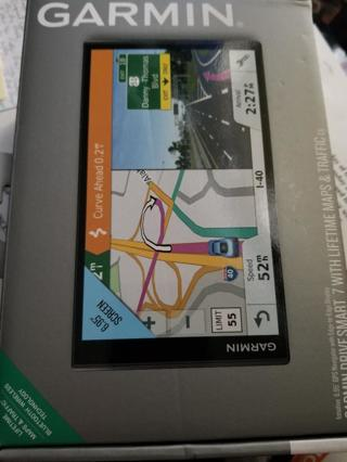 GARMIN DRIVE SMART 7 with lifetime maps and traffic