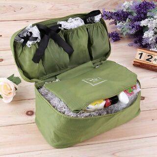 Portable Protect Bra Underwear Lingerie Case Travel Organizer Bag Waterproof