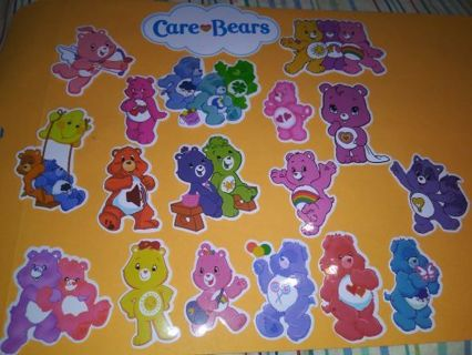 Care bear 18 new vinyl lab top stickers adorable lowest gins! No refunds! No lower! Selling out!