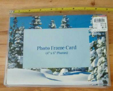 Photo Christmas Card set of 15 NIB