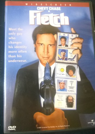 Chevy Chase as FLETCH DVD