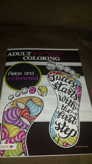 Adult coloring book! Brand new! ! Quotes