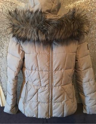Grey Calvin Klein Wintercoat Small