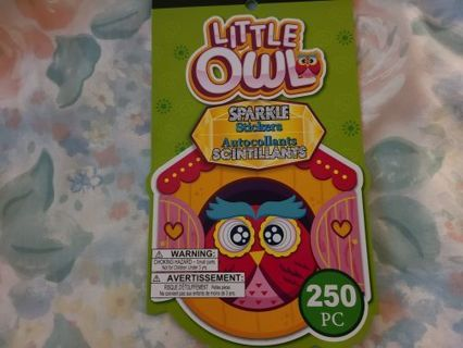 Book Of Owl Stickers