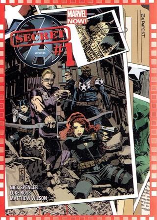 2013 Marvel Now Collectible Card #125 Secret Avengers #1