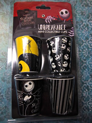 Free New Disney Tim Burton The Nightmare Before Christmas Unbreakable Mini Cups Shot Glasses Set Of 4 Kitchen Listia Com Auctions For Free Stuff