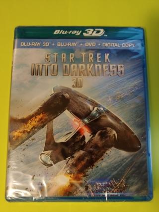 Star Trek: Into Darkness - 3D BluRay + BluRay + DVD + Digital Copy