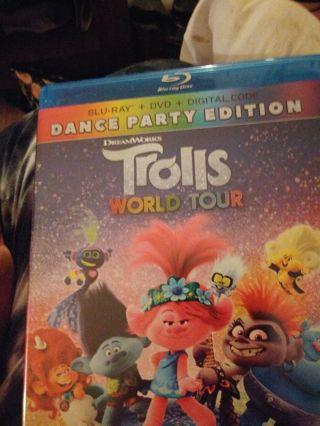 Trolls world tour digital code only