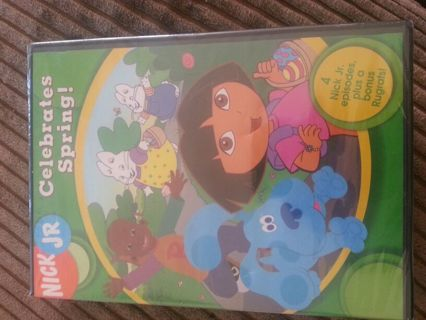 Nick Jr Celebrates Spring Dvd