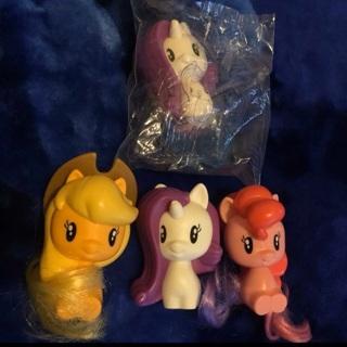 My Little Pony Figures (4)