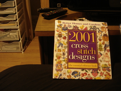 3 cross stitch books