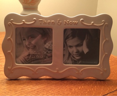 Free Beautiful Glass Hallmark Picture Frame Then And Now Home