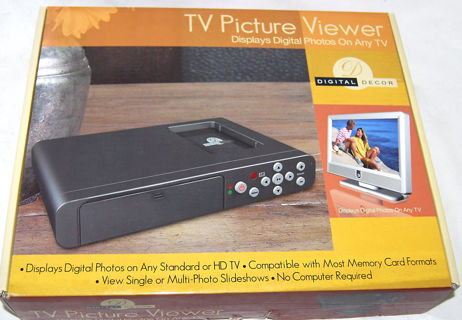 Free New Digital Decor Tv Picture Viewer Photos On Any