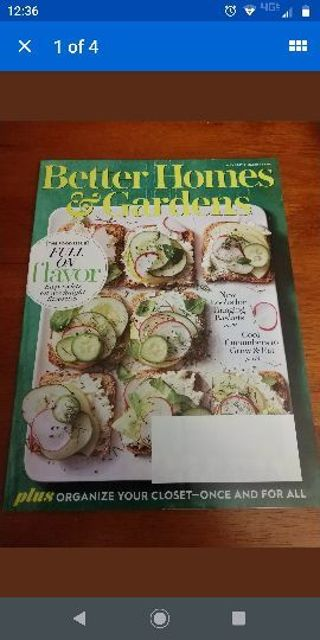 Better Homes and Gardens May 2019 Food Issue