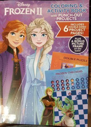 Disney's Frozen II Coloring & Activity Book