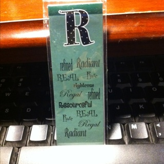 """""""r"""" Bookmark Magnet"""