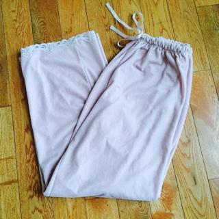 Pink Pajama Pants, Medium (Great Condition)