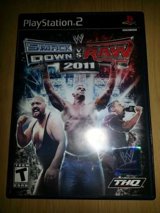 Smack down vs raw 2011