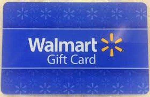 $20 Walmart Card Sent digitally