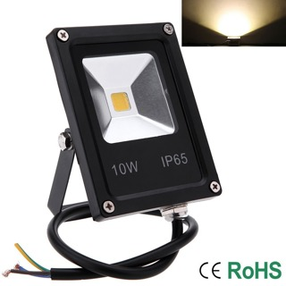 10W LED Flood Light IP65 Outdoor Garden Landscape Yard Warm/Cool White/RGB Lamp