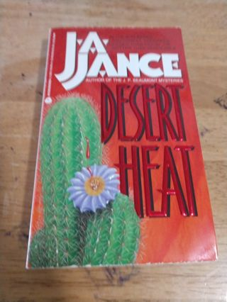Desert Heat by J.A. Jance (paperback)